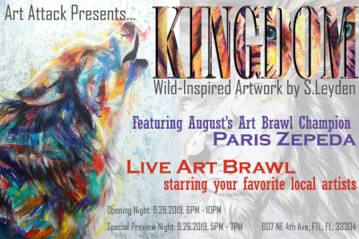 Kingdom: Opening Night and Art Brawl