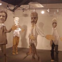 Super Natural Humanoids Exhibition at Pompano Beach Cultural Center