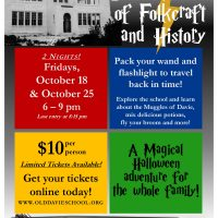 Halloween at the Davie School of Folkcraft and History