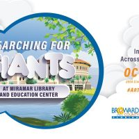 Searching for Giants at Miramar Library and Education Center