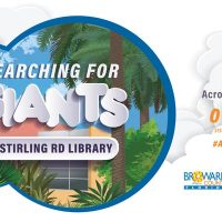 Searching for Giants at Stirling Road Library