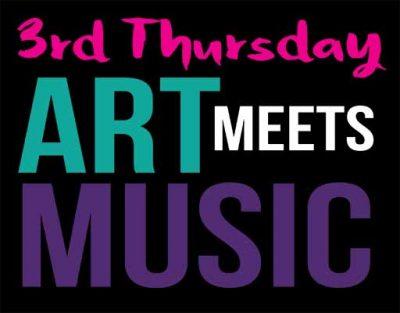 3rd Thursday: Art Meets Music at Arts Garage
