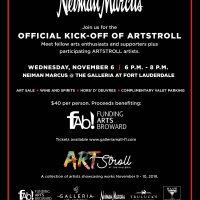 ArtStroll Kick-Off at Neiman Marcus