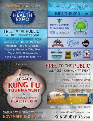 Coral Springs Health Expoand Kung Fu Tournament
