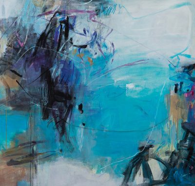 Advanced Abstract Painting Class - Term 3