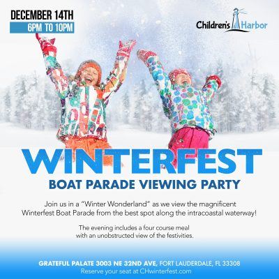 Children's Harbor Winterfest Boat Parade Viewing...