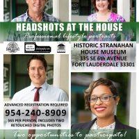 Professional Headshots at Stranahan House