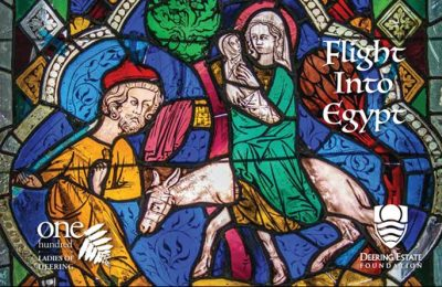 Flight Into Egypt: Rare, Reformation-Era Stained G...