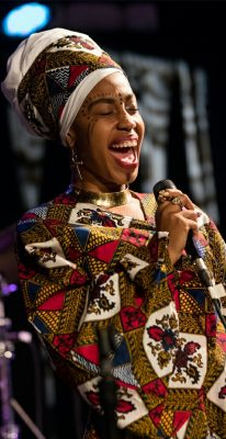 Vocalist Jazzmeia Horn Presented by South Florida ...