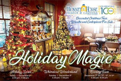 Holiday Magic Soiree at Bonnet House