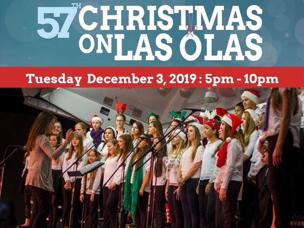 Las Olas Christmas 2020 57th Annual Christmas on Las Olas, Las Olas Association at Las