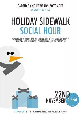 Holiday Sidewalk Social