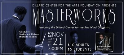 Dillard Center for the Arts Wind Orchestra Masterw...