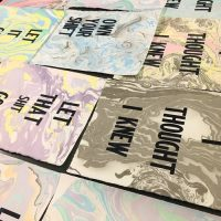 Pint and Print: Marbling and Letterpress