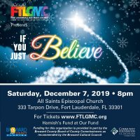 "The Original Ft Lauderdale Gay Men's Chorus Presents ""If You Just Believe"""