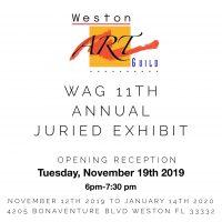 WAG 11th Annual Juried Art Exhibit