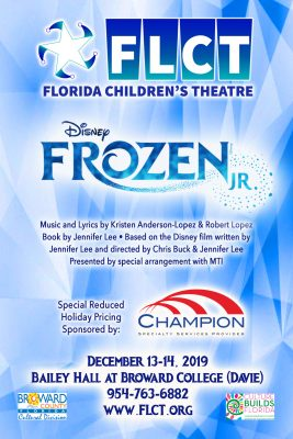 Florida Children's Theatre Presents: Frozen, Jr.