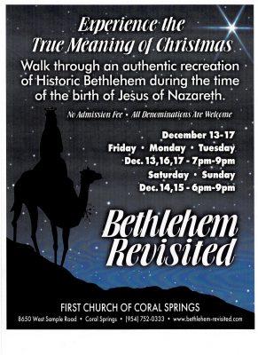 Bethlehem Revisited 2019