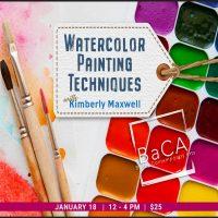 Watercolor Techniques Workshop