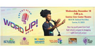 WORD UP! Teen Poetry Slam
