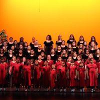Girl Choir Winter's Wind Concert