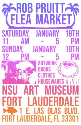 Rob Pruitt's Flea Market and Talk