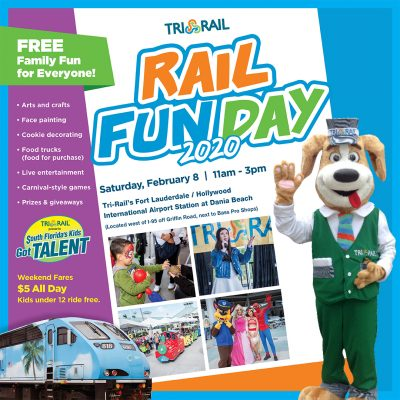 "Tri-Rail's ""Rail Fun Day"""