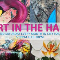 Art in the Hall - Dania Beach Atrium Gallery, Dania After Dark