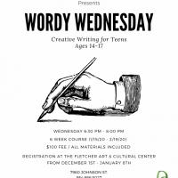 Wordy Wednesdays Workshop