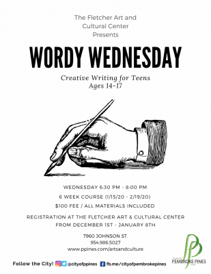 Wordy Wednesdays Workshop