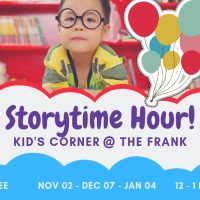 Kids' Corner @ The Frank: Story Time Hour