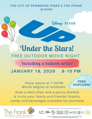 """""""Up"""" Under the Stars – Movie Night on the Pl..."""