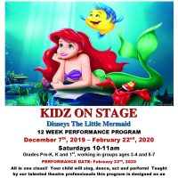 KIDZ ON STAGE: The Little Mermaid