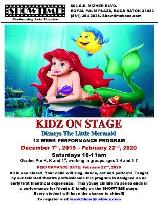 KIDZ ON STAGE: The Little Mermaid