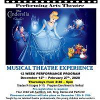 Musical Theatre Experience: Cinderella