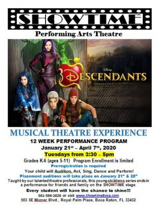Musical Theatre Experience: Disney Descendants