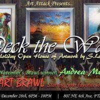 Deck the Walls: Closing Night and Art Brawl
