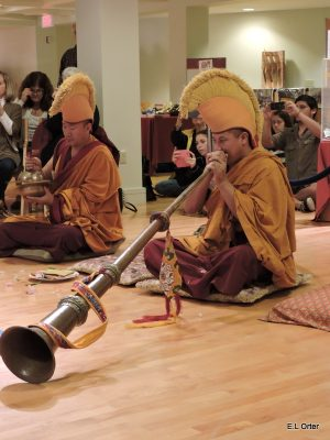 Sacred Art Tour with Buddhist Monks at the Coral Springs Museum of Art