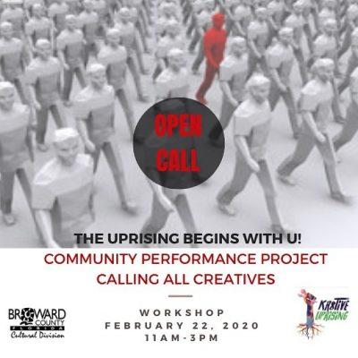 The Uprising Begins with U Workshop by KR8TiVE Upr...