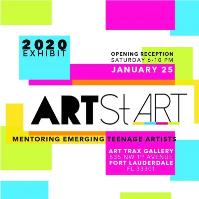 ArtStART 2020 Exhibit: Mentoring Emerging Teenage Artists