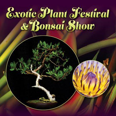 Exotic Plant Festival and Bonsai Show