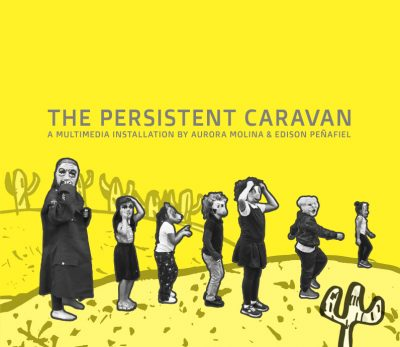 The Persistent Caravan Installation at FAT Village...