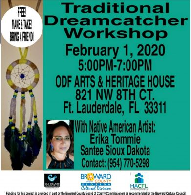 Traditional Dreamcatcher Workshop