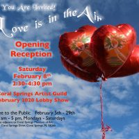 Love Is In The Air! Opening Reception and Awards Presentation