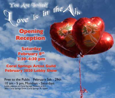 Love Is In The Air! Opening Reception and Awards P...