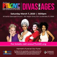 "Fort Lauderdale Gay Men's Chorus Presents ""Divas Thru The Ages"""
