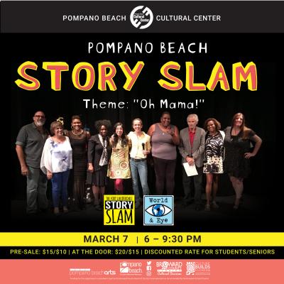Pompano Beach Story Slam: Oh Mama!
