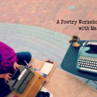 Write On! A Poetry Workshop/Playshop for Women