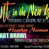 Paint in the New Year: Opening Night and Art Brawl