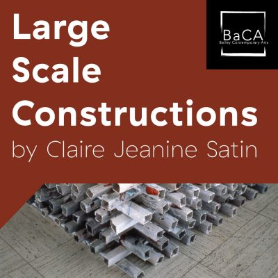 Large Scale Constructions Exhibition by Claire Sat...